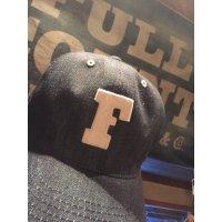 FULL COUNT フルカウント 6PANEL DENIM F BASEBALL CAP