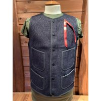 BROWN'S BEACH EARLY VEST ブラウンズビーチ ベスト NAVY BLUE