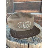 THE H.W.DOG&CO TRUCKER CAP BROWN ブラウン